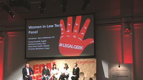 Legal geek panel