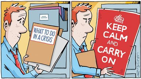 How to crisis