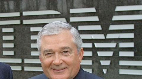 Lou Gerstner, former IBM chief