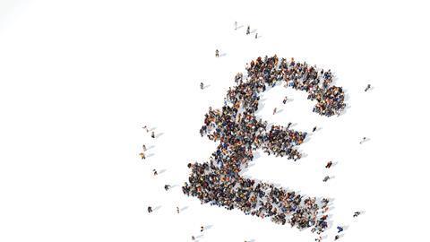 Pound people crowdfunding