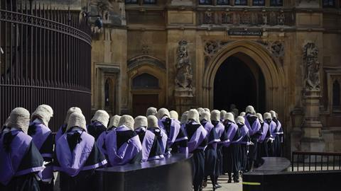 Judge procession