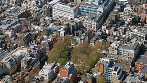 Soho Square, London