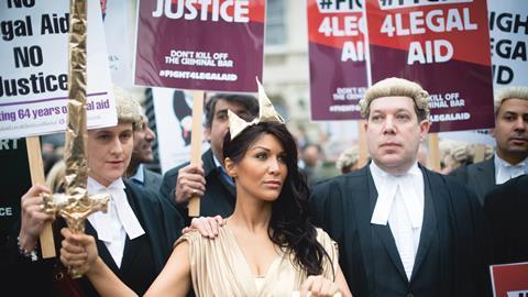 Legal aid demo
