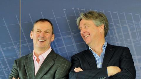 Hugh Blaza and Philip Shaw