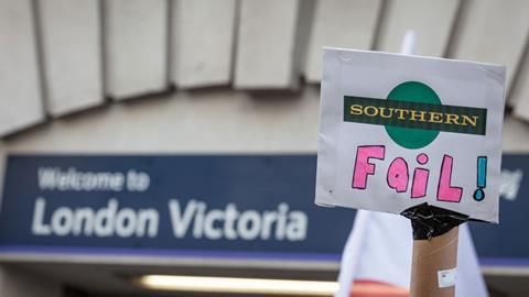 Southernrailprotest