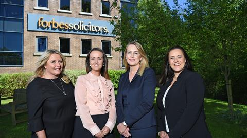 Promotions left to right shirley wignall, amy stirton, jenny burke and gill carr