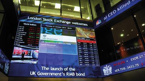 Lse sovereign bond display board