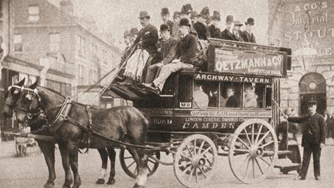 Edwardian bus