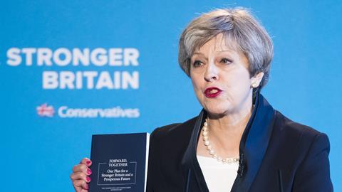 Theresa May launched the Conservative Manifesto on Thursday