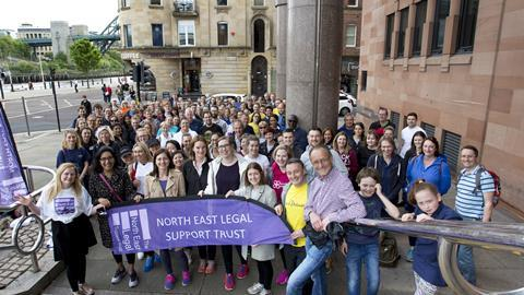 Northeast legal walk