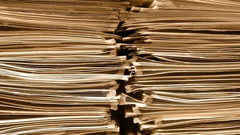 Pile of paper image