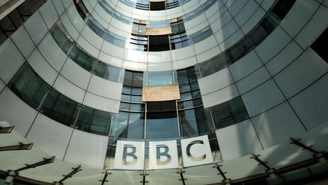 BBC Broadcasting House zoomed
