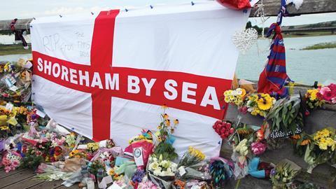 Shoreham aircrash tribute