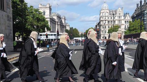 Judges procession 2017