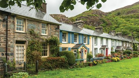 Welsh cottages