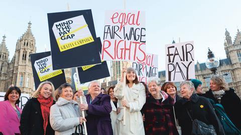 Dagenham pay protest