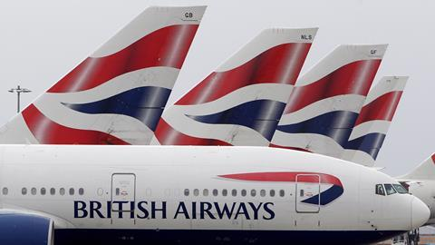IAG shares fall as BA schedules recover from IT failure