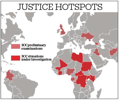 Justice Hotspots