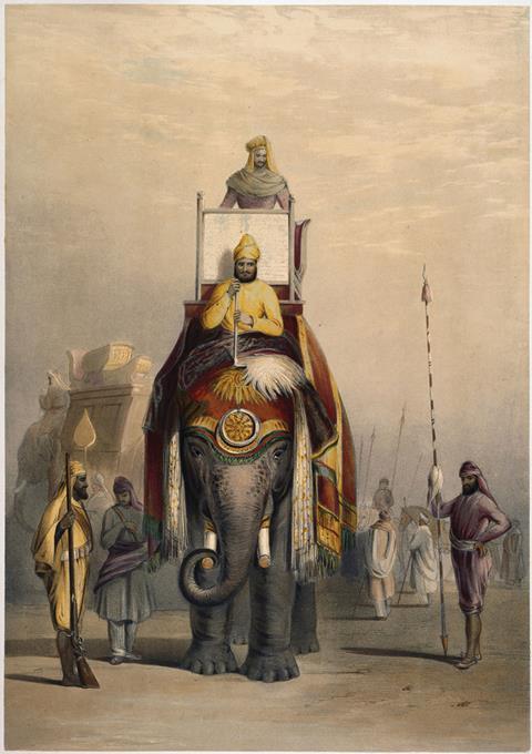 The Rajah of Putteealla