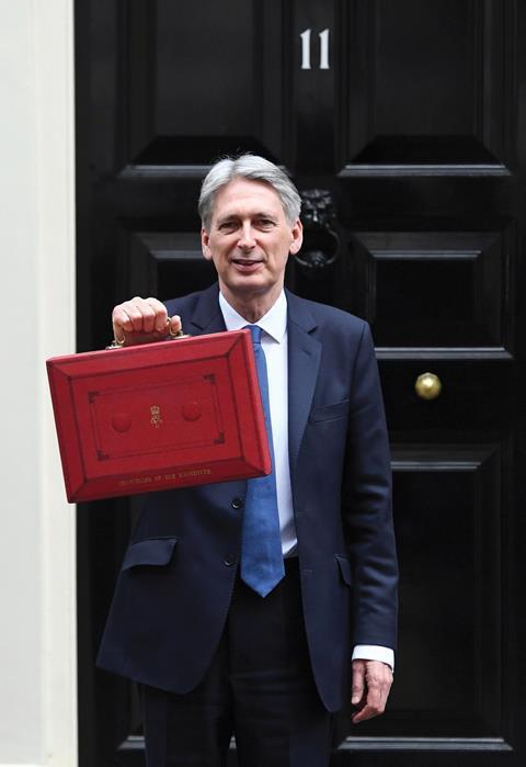 Philip hammond despatch box