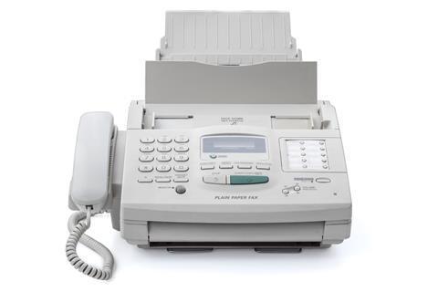 Fax machine istock