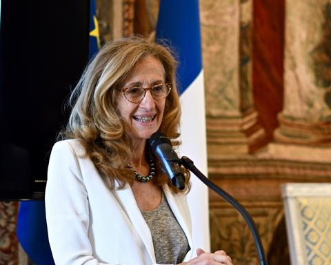 Nicole Belloubet, minister of justice, France