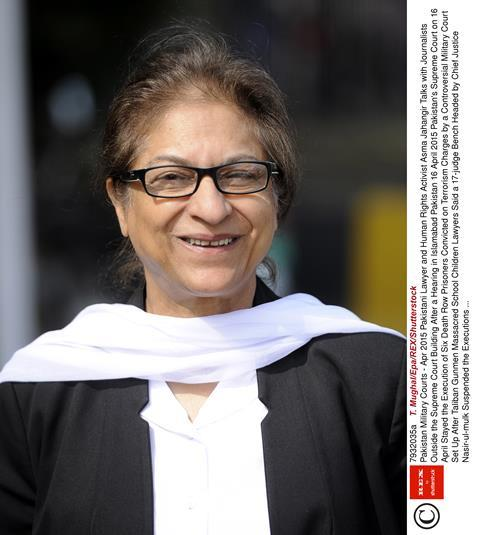 Asma Jahangir's funeral prayers offered at Gaddafi Stadium