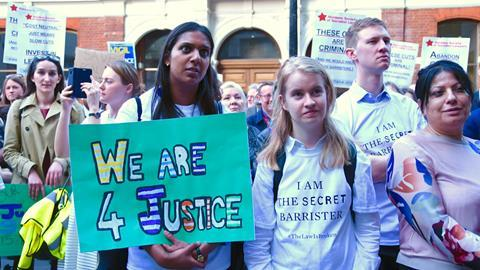 Time for justice vigil, 18 April