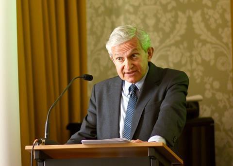Sir Geoffrey Vos, chancellor of the High Court