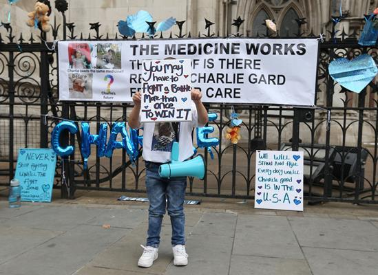 Charlie Gard protest