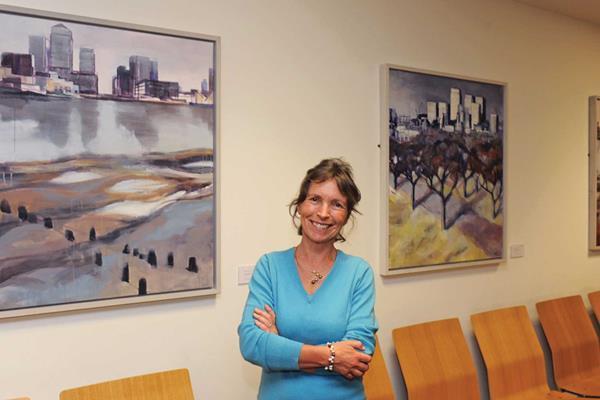 Wendy brooke smith rolls bldg paintings