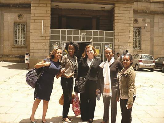 Anne in ethiopia