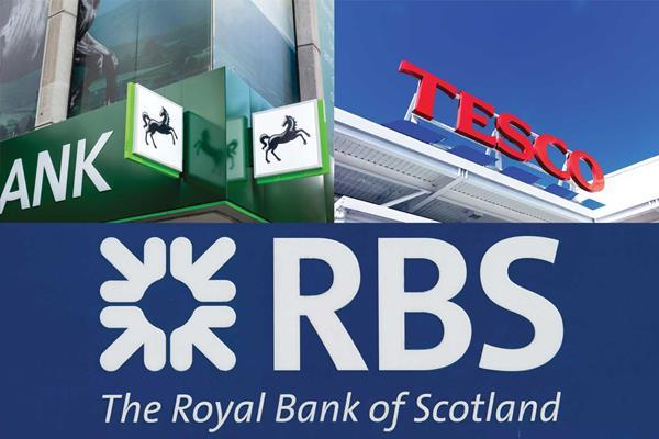 Lloyds tesco rbs
