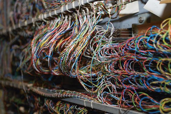 Wires it column