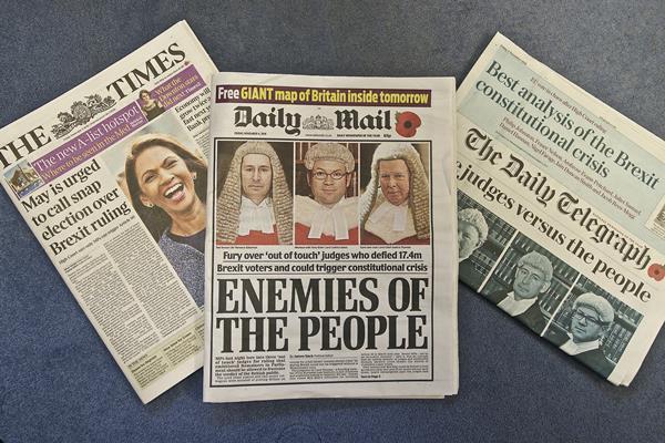 News headlines 4 November 2016