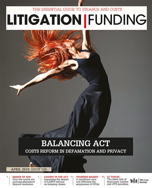 Litigation Funding cover Apr 19