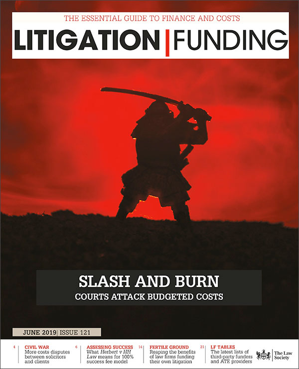 Litigation Funding Cover June 2019
