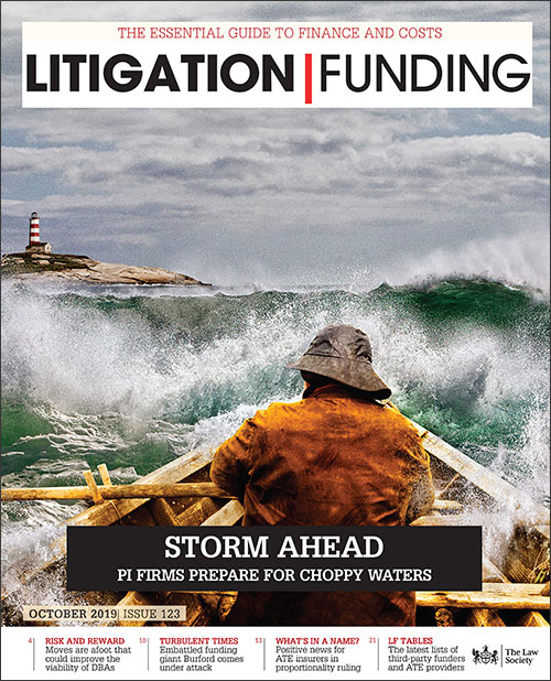 Litigation Funding Cover June 2019