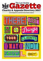 Charity & Appeals Directory 2017