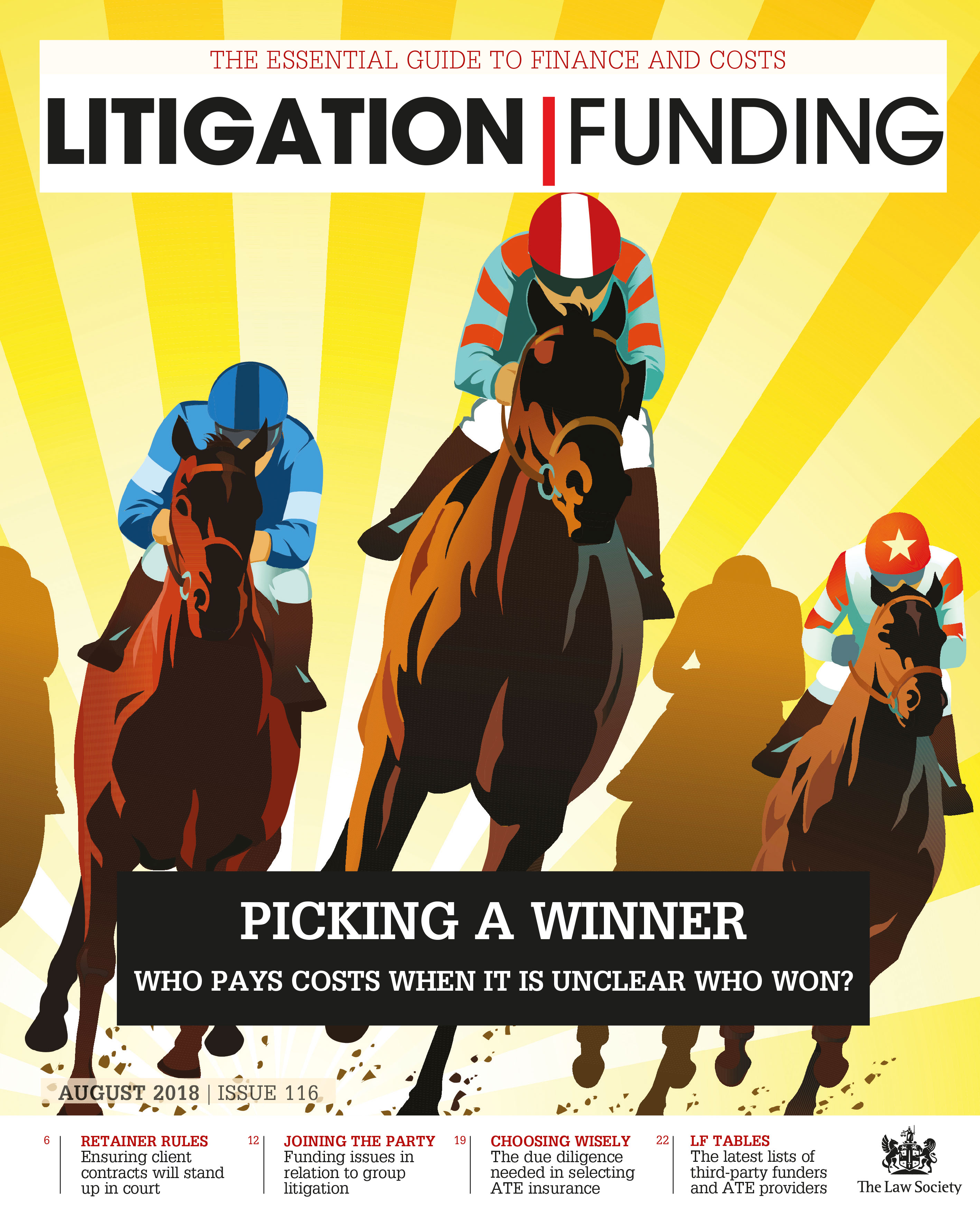 Litigation Funding cover August 2018