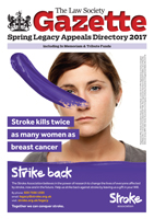 Law Society Gazette Spring Legacy Appeals Directory 2017