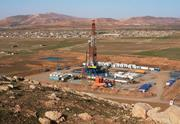 An oil and gas exploration site in Kurdistan