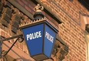 Police station lamp