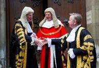 Lords Dyson and Thomas with Michael Gove