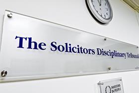 Solicitors Disciplinary Tribunal sign