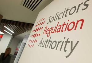 Rebuke for solicitor who transferred £11.5k from client accounts