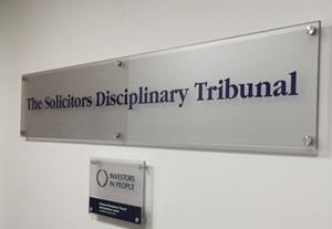 Solicitor fined after SDT rejects McKenzie friend argument