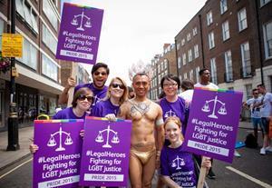 Legal pride bejewelled