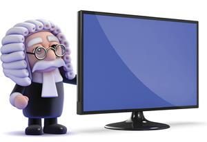 Judge and computer