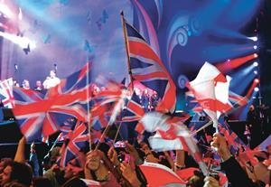 Last night of the Proms in the Park